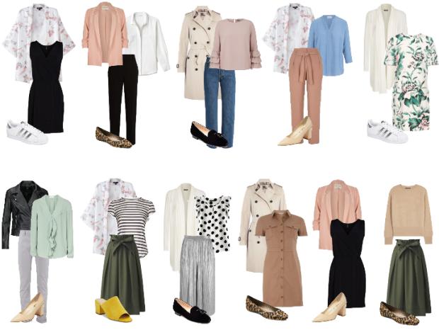 Rita Completo - Consultoria de imagem - Guarda roupa cápsula - sugestão 31 peças x 31 dias - 31